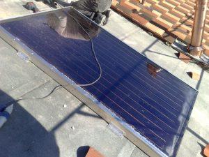 Posa dei pannelli solari