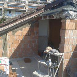 costruzione delle pareti