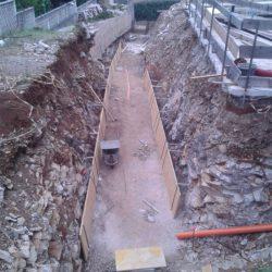 Preparazione del tunnel