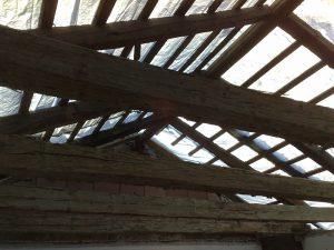 Struttura del tetto esistente