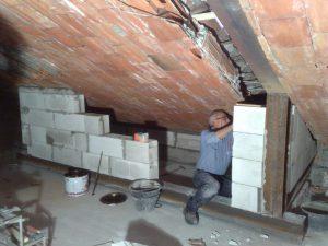 Realizzazione della terrazza a vasca