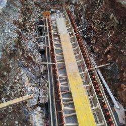 Casseratura delle pareti del tunnel
