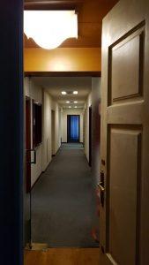 1 entrata ufficio prima dei lavori Impresa Zampieri Trieste