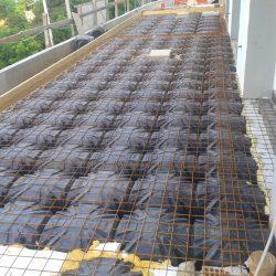 1 terrazza con intercapedine tipo igloo