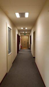 3 corridoio pima dei lavori