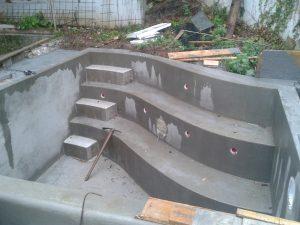 3 struttura della piscina