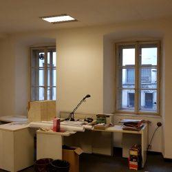 5 uffici interni prima dei lavori