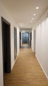 9 corridoio dopo i lavori