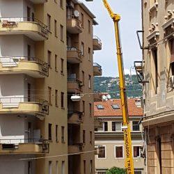 Impresa Zampieri Trieste - rimozione di pilastri 1