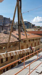 Impresa Zampieri Trieste - rimozione di pilastri 4