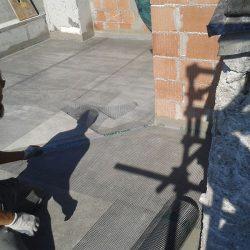 Impermeabilizzazione con materiale cementizio