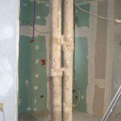 Mascheramento delle colonne di scarico