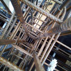 13 gabbie di armatura in acciaio