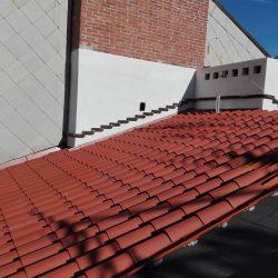 9 manto di copertura in fase di completamento