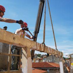 Impresa Zampieri Trieste - rimozione di pilastri 2